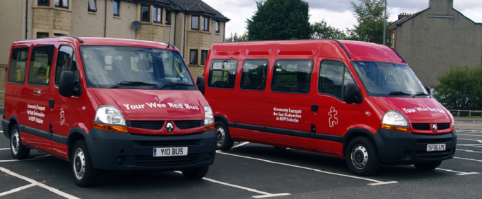 Your Wee Red Bus…